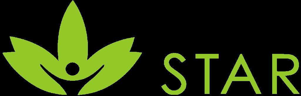 CBD Star Logo mit CBD Star Icon