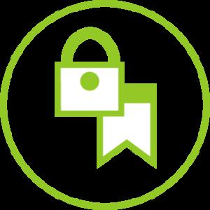 Zeichen für Kundensicherheit und Datenschutz