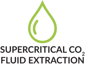 Supercritical Co2 Fluid Extraction mit Produktmerkmal Icon Tropfen