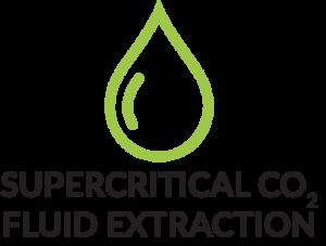 Supercritical Co2 Fluid Extraction mit Produktmerkmal Icon Tropfen