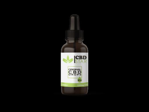 Bio Vollspektrum CBD Öl 10% Flasche ohne Box